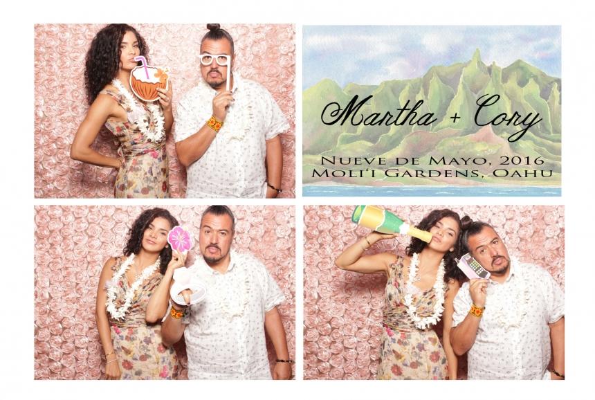 Honolulu Photo Booth Prints