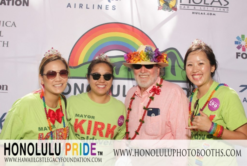 honolulu pride photo booth