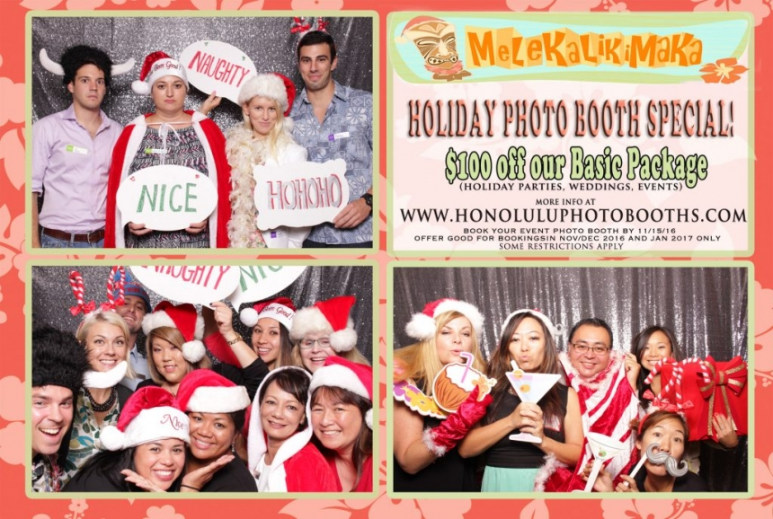 honolulu photo booths holiday photo booth