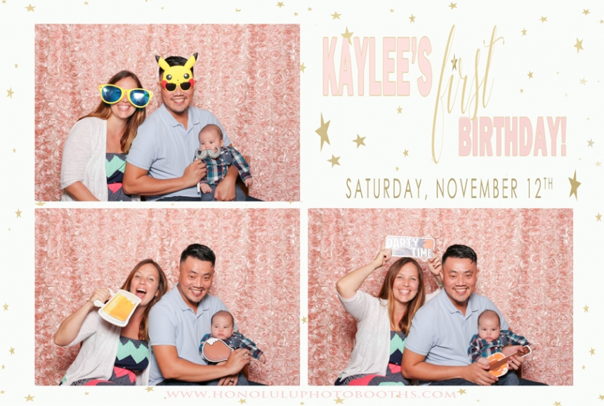 Birthday Photo Booth Honolulu First Baby Luau Photobooth Rental Hawaii (2 of 23)
