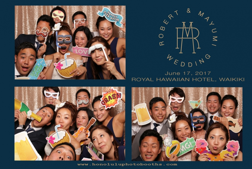 Honolulu Photo Booths Rental Wedding Party Jacquelyn Esser Joseph Royal Hawaiian Hotel Photography-2
