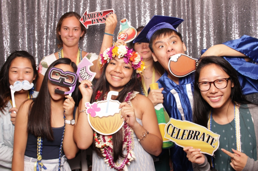 Senior Graduation Party Photo Booth Rental