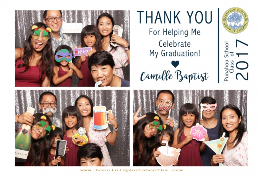 Photo Booth rentals in Honolulu Senior Graduation Party