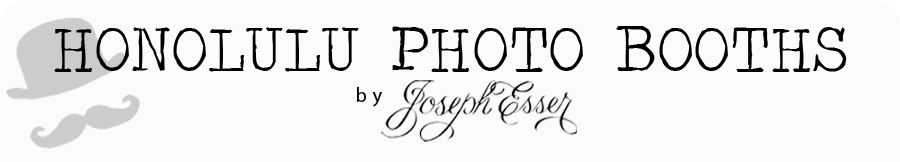 Honolulu Photo Booths by Joseph Esser logo